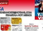 Tramite su primer linea de credit con banorte mexico