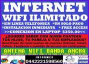 Internet wifi ilimitado gratis
