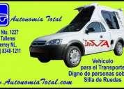 Taxi para discapacitado