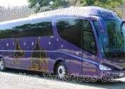 Renta de autobuses de gran lujo irizar 2009