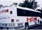 Renta de autobuses de turismo en el df y estado de mexico!!