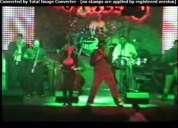 """Grupo de salsa """" niche light """" latin- show- music"""