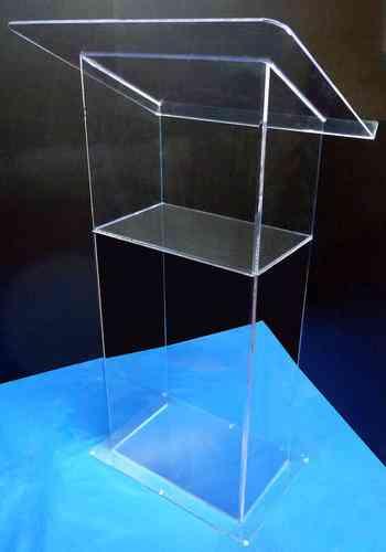 Podium de acrilico, Tombolas de acrilico, Capelos de acrilico