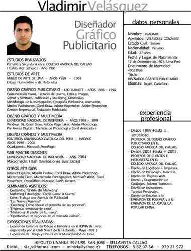Descarga Tu Curriculum Vitae Profesional Cuauhtemoc Doplim 63088