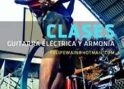 Clases de guitarra elÉctrica a domicilio