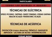 Clases d guitarra electrica y acustica profesionales baratas