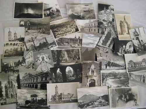 Segunda Mano Antiguedades Muebles : Vendo coleccion de tarjetas postales antiguas méxico