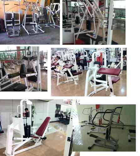 Aparatos de gimnasio circuito completo le n art culos for Articulos para gimnasio