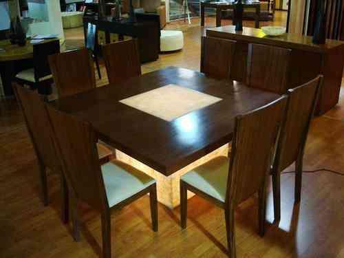 Comedores modernos d f iztacalco hogar jardin muebles for Comedores modernos mexico df