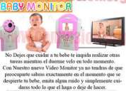 Monitor inalámbrico para bebé audio y video