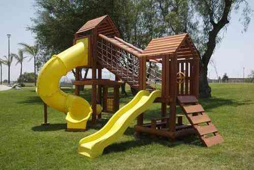 Construgames juegos infantiles r sticos san mart n for Casas infantiles de madera para jardin segunda mano