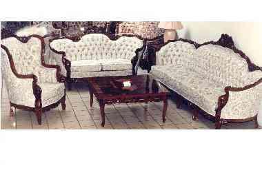Vendo Sala Luis Xv Nueva 3 Piezas Pabell N De Arteaga