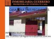 Se vende casa de 2 recamaras en los heroes tecamac, seccion bosqu