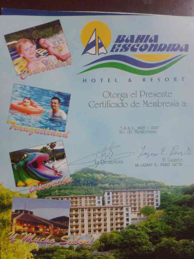 Vendo Membresia De Bahia Escondida Club Resort Monterrey