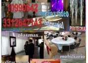 Renta de sonido iluminación vídeo podium eventos 3312647143 now