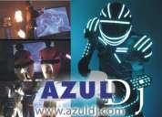 Azul dj animación