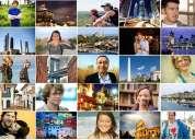 Interesado/a en conocer gente de todas las partes del mundo?