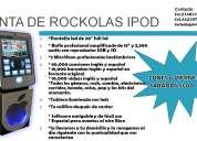 Renta de rockolas karaoke tipo ipod queretaro y alrededores
