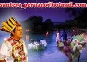 Santero peruano experto en union de parejas
