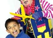 Payasos para fiestas y eventos infantiles