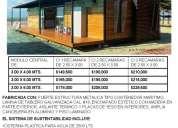 ¡¡ casas prefabricadas autosustentables super económicas !!