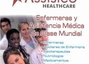 Offrezcodisponibilidad inmediata como auxiliar de enfermera y/o cuidadora