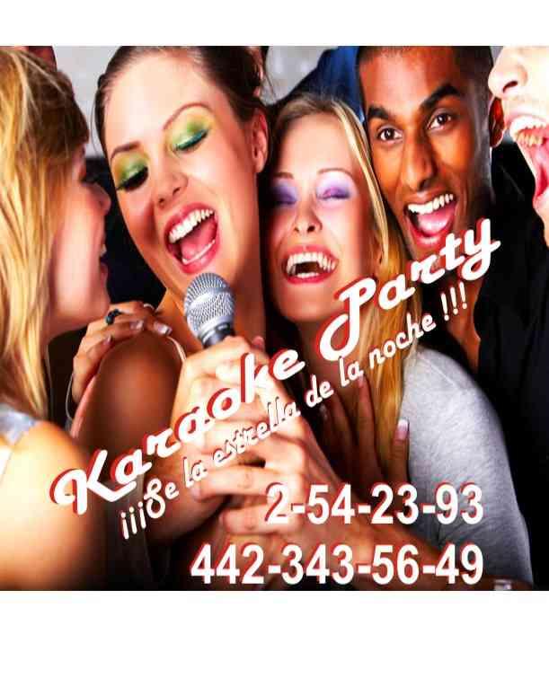 Renta de Rockolas Queretaro con Karaoke para Fiestas y Eventos