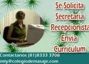 Secretaria recepcionista