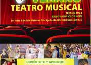 El mejor en verano curso de teatro musical