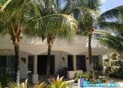 casa sola en cancun playa del carmen con 500 m2 de terreno