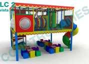 Juegos infantiles para salones de fiestas en mexico