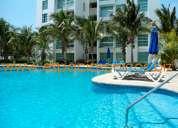 Mayan lakes, acapulco diamante, 2 rec, sin beach club. renta x noche