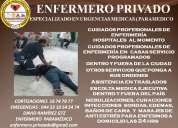 Enfermero y para medico privado a servicio de guadalajara