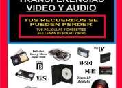 Transferencias de peliculas a dvd, vhs, beta, hi8 mm, mini dv, super 8mm y 16mm