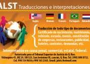 Alst traducciones e interpretaciones
