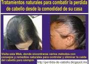 Para la perdida de cabello | caida de pelo