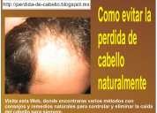 La caida del pelo   remedio para caida de cabello
