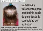 La caida del cabello | remedios para caida de cabello
