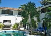 casa jardin y alberca privada, acapulco diamante, 4 rec. hasta 25 personas