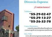 divorcio express en el distrito federal
