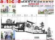 Autocad dibujo planos levantamientos electricidad