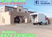 Mudanzas economicas en tijuana, servicio de calidad -- baja express --