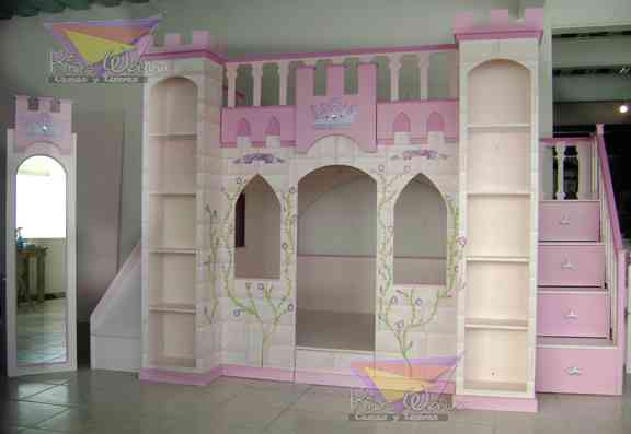 Recamaras de princesas quer taro hogar jardin for Recamaras infantiles queretaro