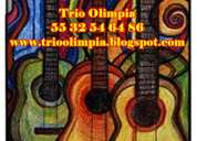 Contratar serenatas con trios mexico df