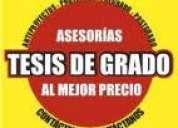 ElaboraciÓn de tesis, tesinas, monografÍa