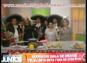 Contratacion de mariachis en benito juarez tel 56146513