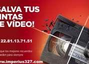 Transferencia de videos a dvd
