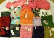 Lote / paca de ropa  americana nueva para bebes y niÑos con etiqueta original