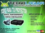 Renta de proyectores, equipos de audio, microfonos,grabacion de audio y video profesional, pantallas