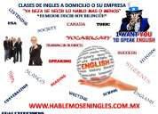 Clases de inglés a domicilio o su empresa